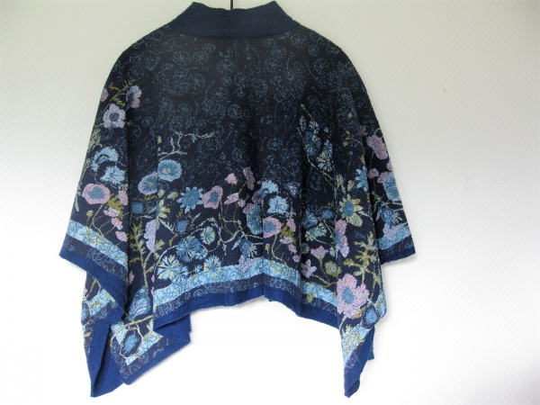 Bomulds poncho